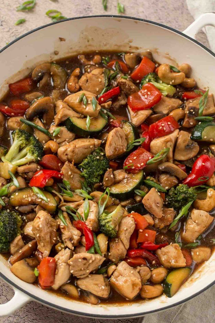 Easy Chicken Stir Fry - Valentina's Corner