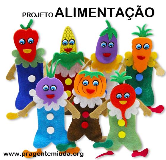 Famosos Projeto alimentação para Educação Infantil | Pra Gente Miúda  FU33