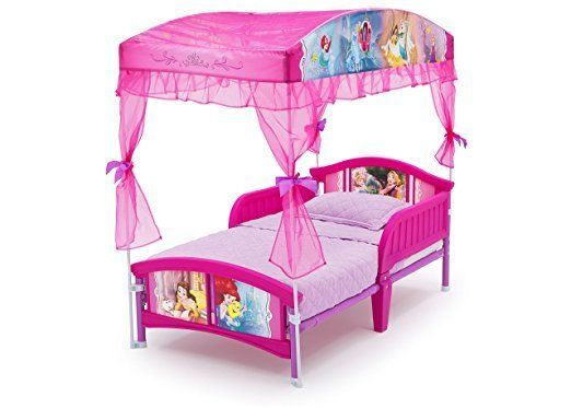 Lovely Disney Princess Canopy Toddler Bed Children Bedroom Furniture Kids Teens  Delta #DeltaChildren. KleinkinderbettHimmelbettenSchutzdächerPrinzessin ... Awesome Ideas