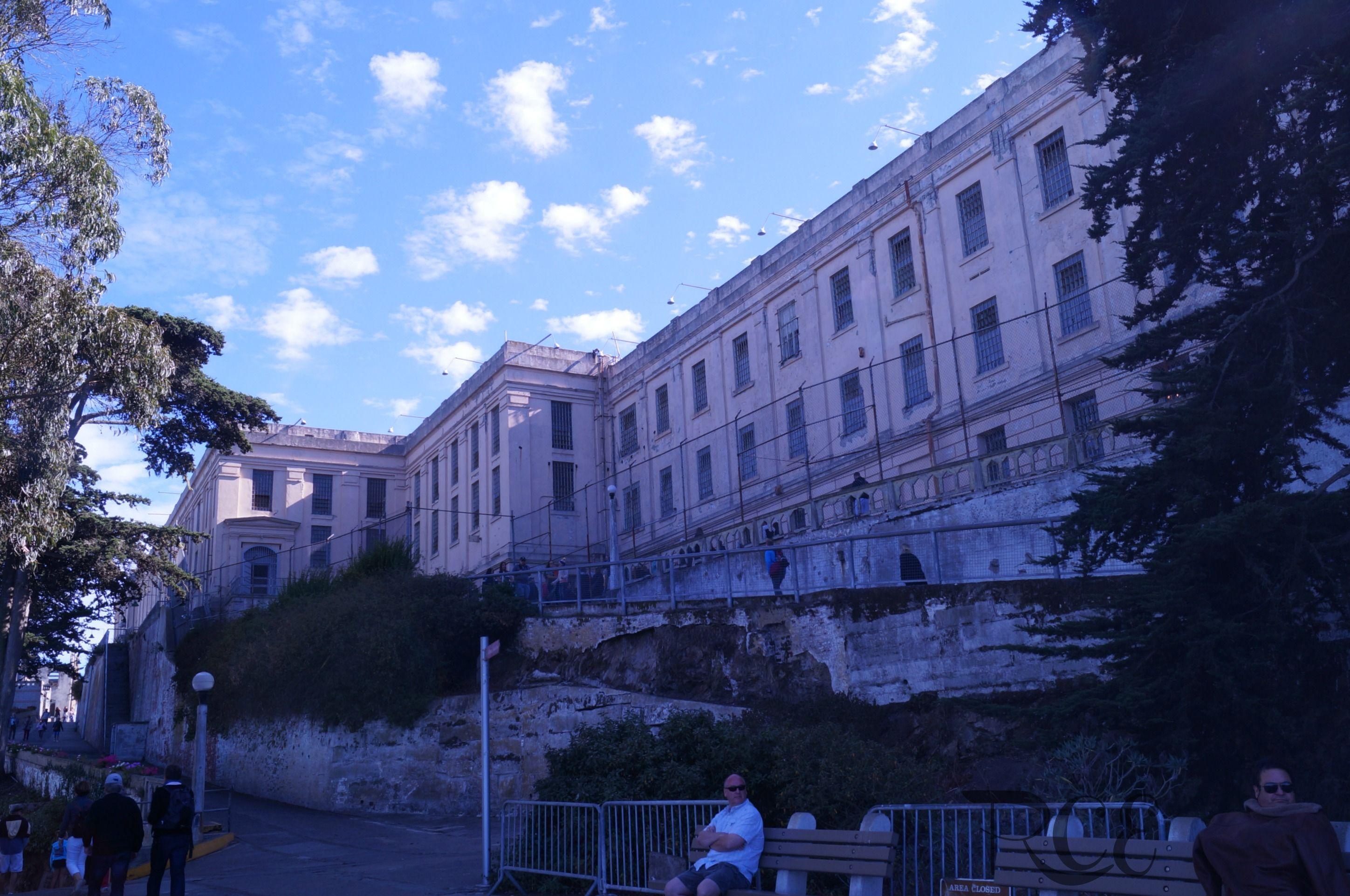 Exterior Main Cell House Alcatraz Island Alcatraz Trip