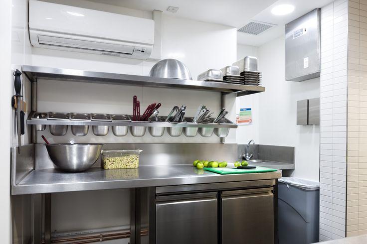 Basic Small Restaurant Kitchen Layout