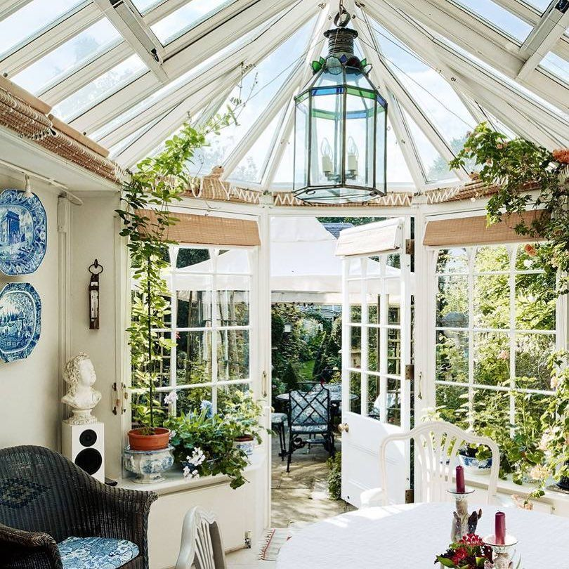 House Garden On Instagram Containing Artwork Collected Over A Lifetime And Lived In By Three Generations T Home And Garden Garden Room Conservatory Design