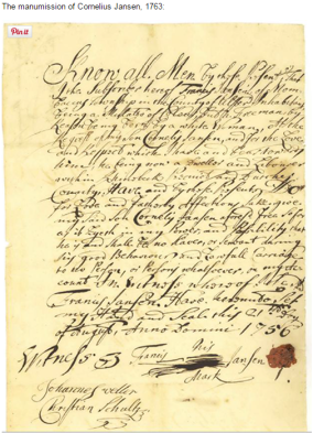 "New online portal to Dutchess County ""Ancient Documents"" 