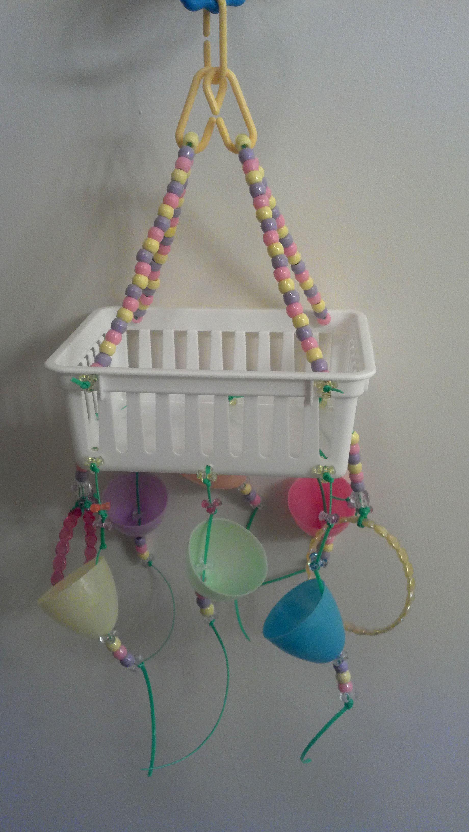 Easter basket swing weaster egg foraging cups sugar