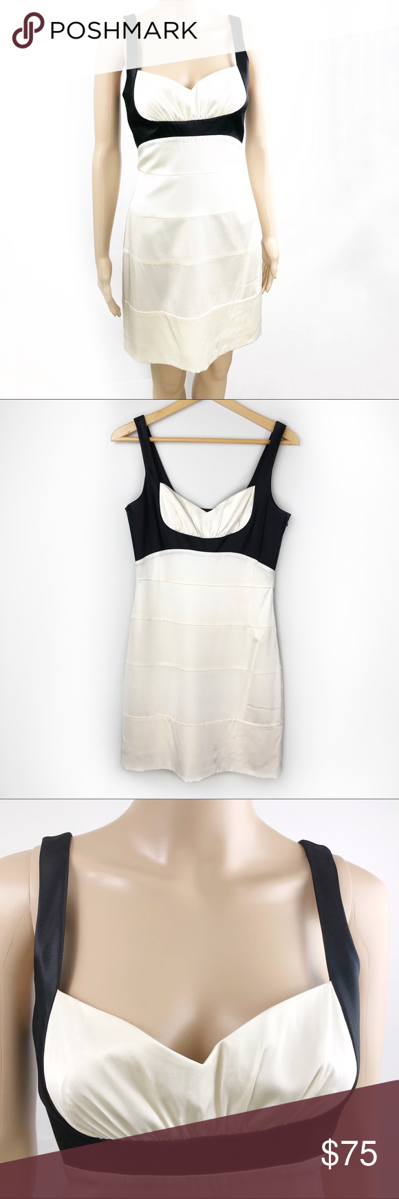 Bcbg Maxazria Silk Bandage Cocktail Dress Size 8 Clothes Design Bcbg Dresses [ 1740 x 580 Pixel ]
