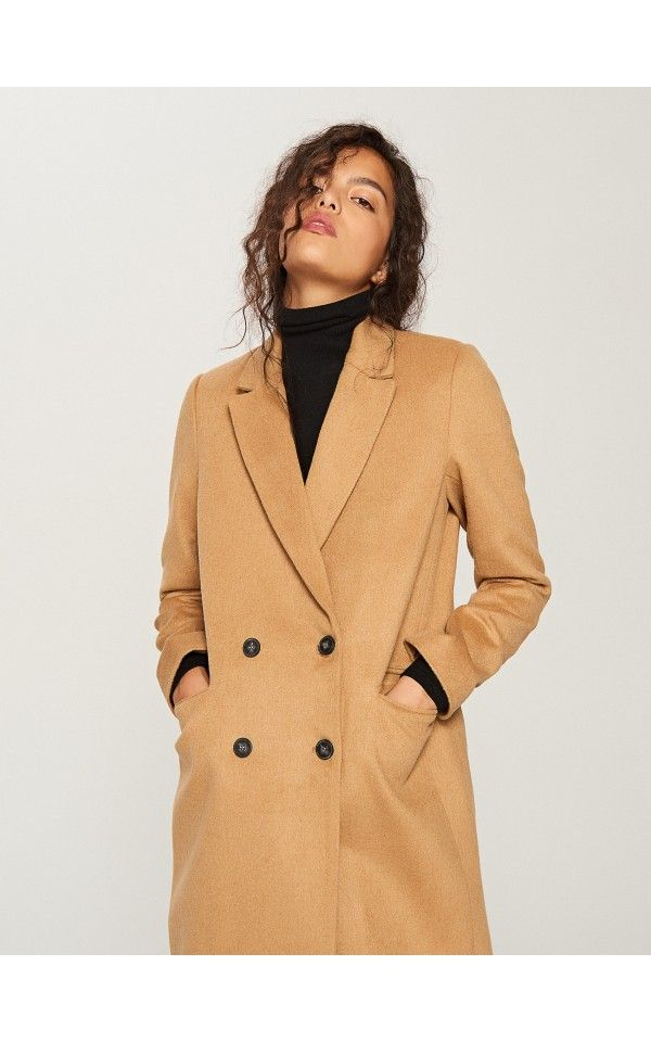 sehr bekannt neue Stile suche nach neuestem Mantel mit Trapezschnitt, Jacken, Mäntel, beige, RESERVED ...