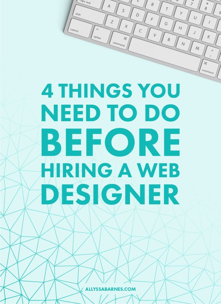 Thinking about hiring a web designer? Here's what you need to do before you book your project.