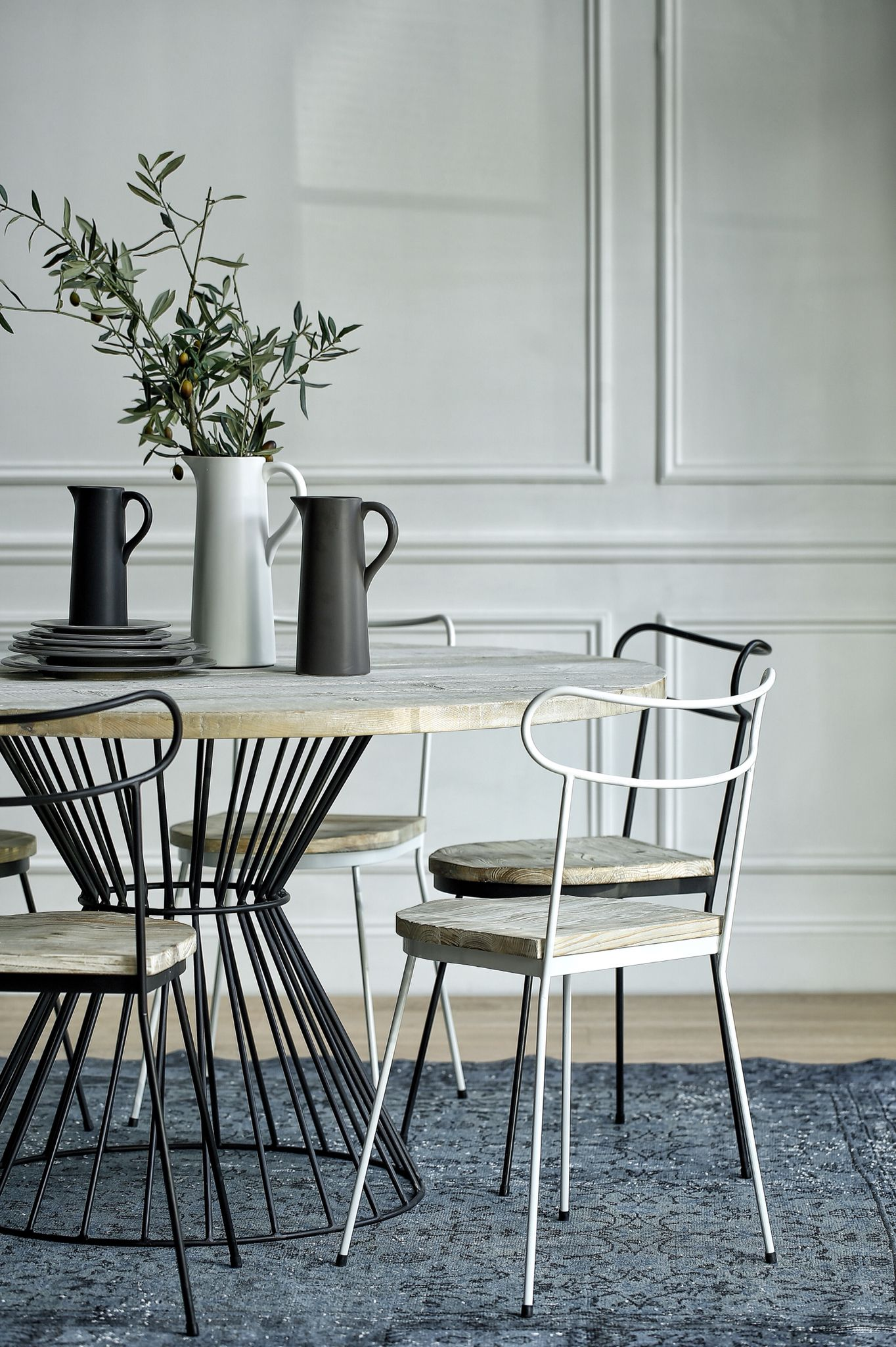 Dinner table made by Objectum Living Space Belgium.Photo by Emo Wong ...