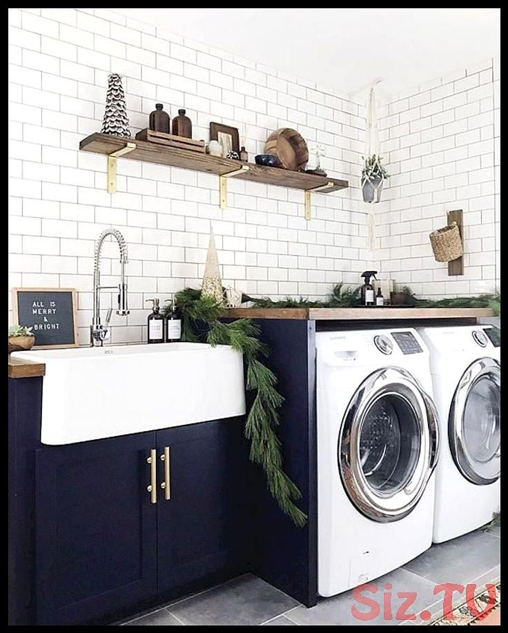 Easy tricks to make a Scandinavian style laundry room which will give a perfect refreshment in simple and sleek designs Image 9 Easy tricks to make a Scandinavian style l...