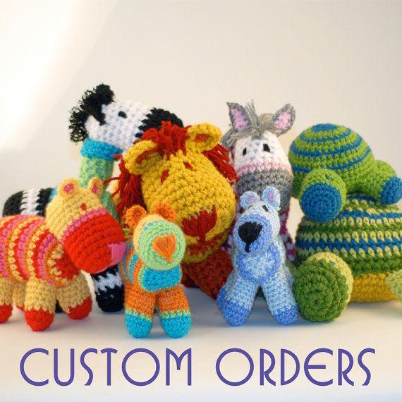 Etsy crochet animals for sale   Crochet   Crochet Animals