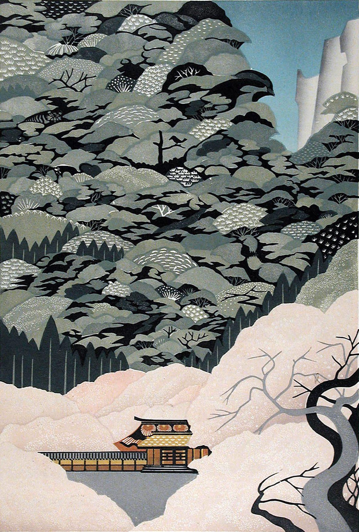 japanese print art - 736×1092