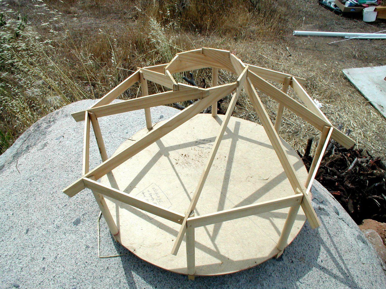 sol y barro the reciprocal roof pallets pinterest gartenh user dachs und tragwerk. Black Bedroom Furniture Sets. Home Design Ideas