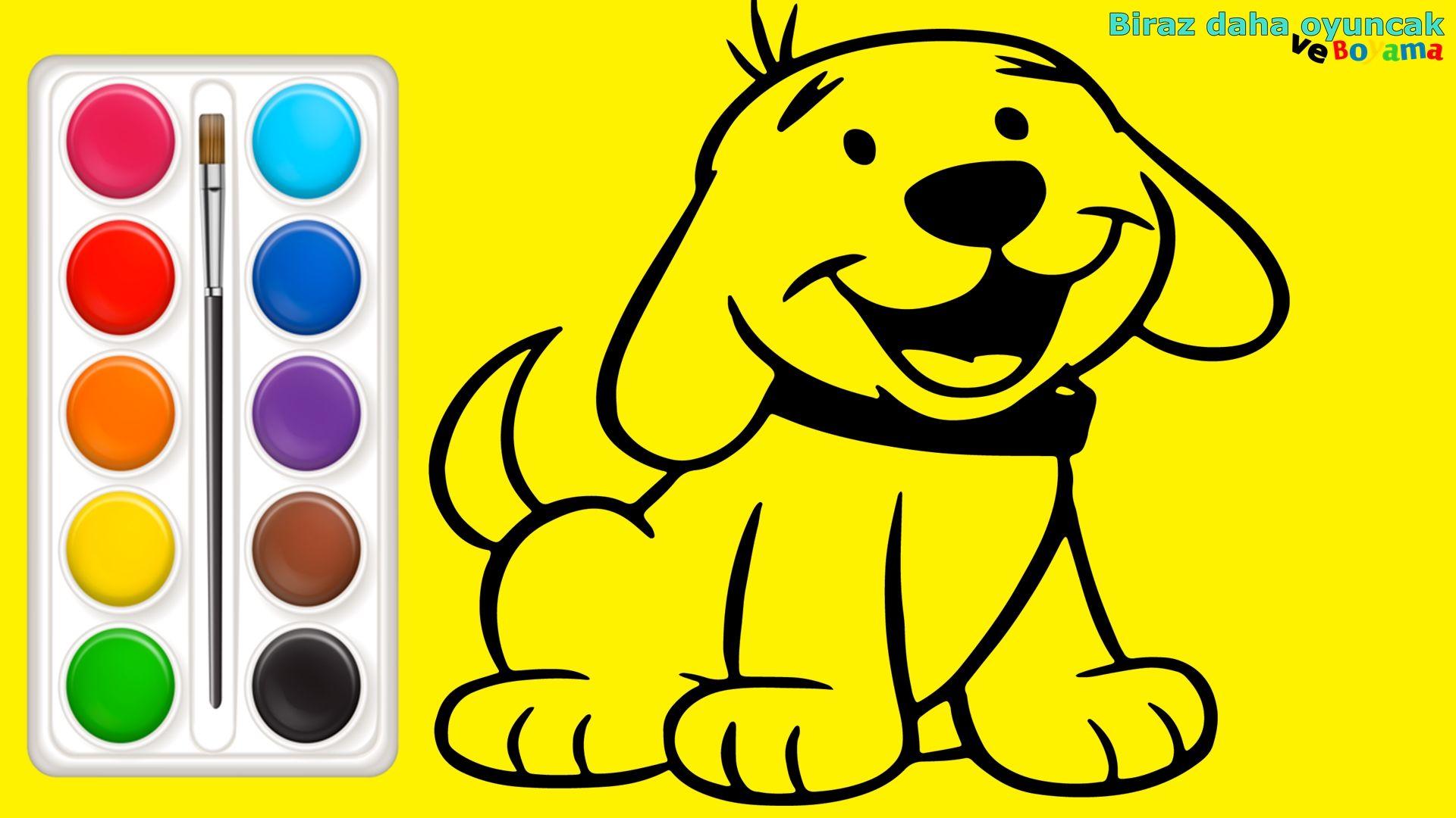 Kopek Boyama Sayfasi Cocuklar Icin Egitici Boyama Videolari Boyama Oyunlari Pluto The Dog Scooby Scooby Doo