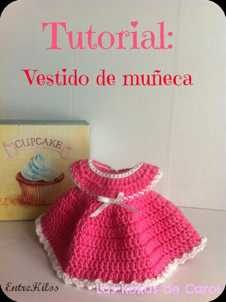 tutorial: vestido muñeca a crochet | vestidos munecas