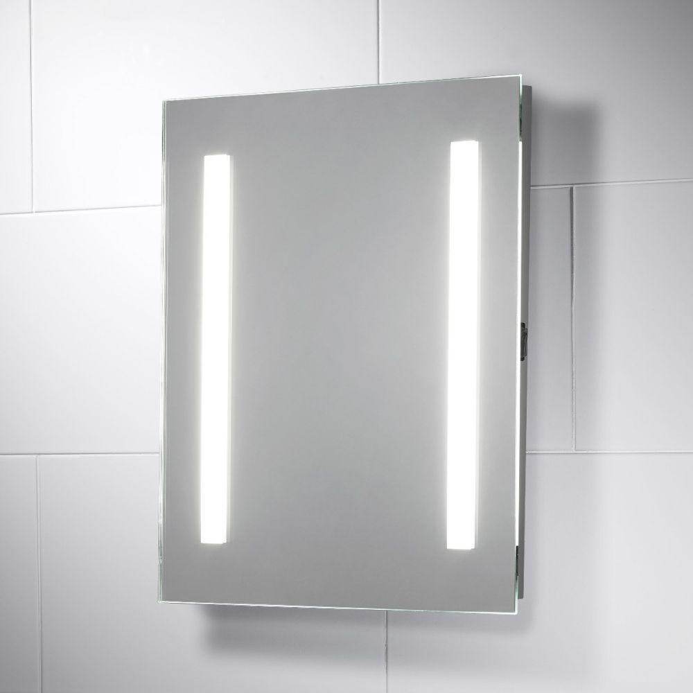 Serena Energy Saving LED Illuminated Bathroom Mirror with Shaver ...