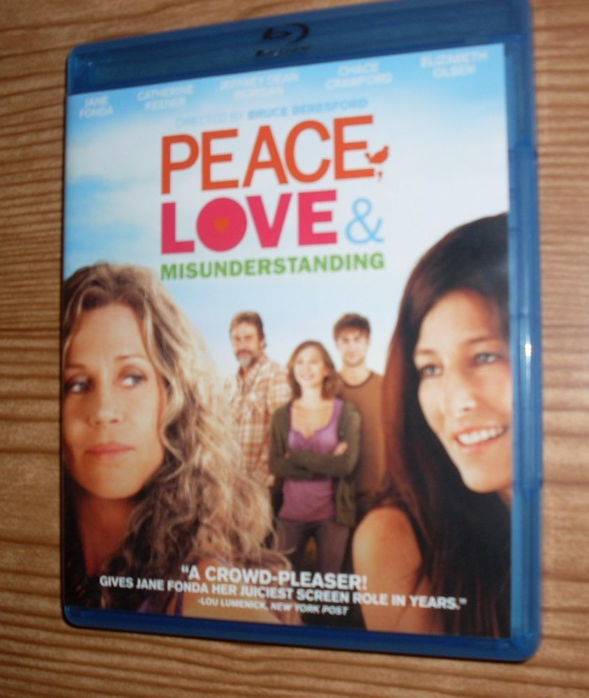 Peace love misunderstanding dvd 2011 jane fonda