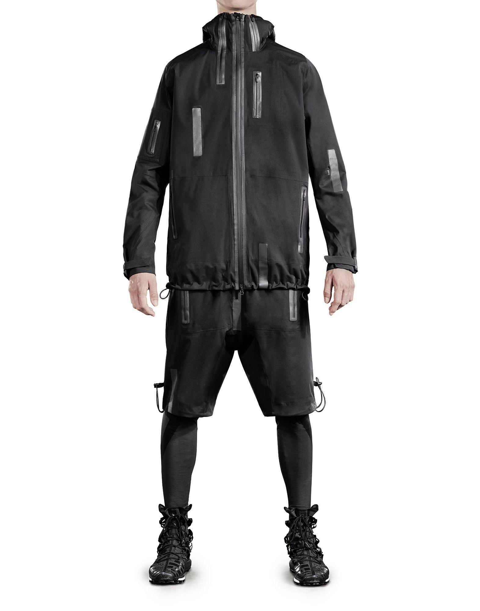 y 3 sport rain zip jacket m coats jackets man y 3 adidas stuff