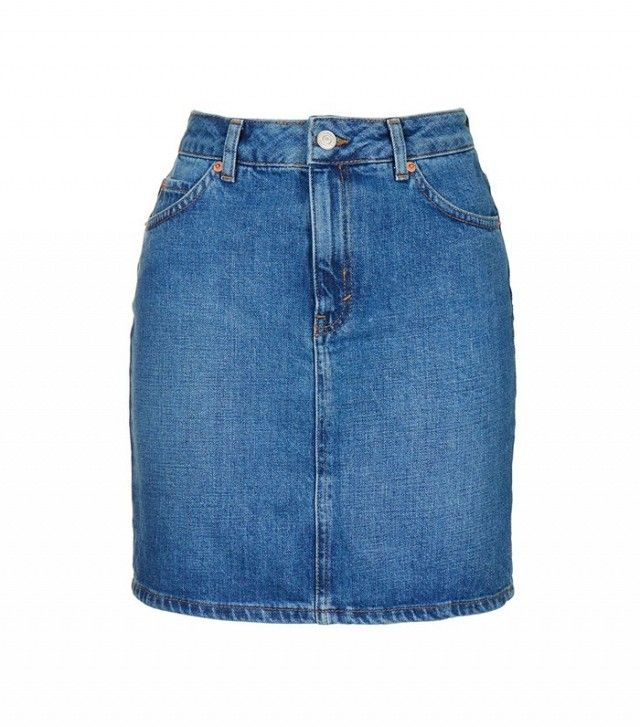 Topshop Moto High-Waisted Mini Skirt