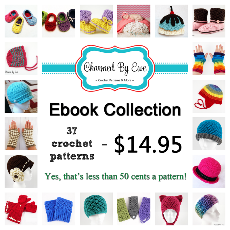 Bundle up and SAVE! Get 37 crochet patterns in this convenient eBook ...