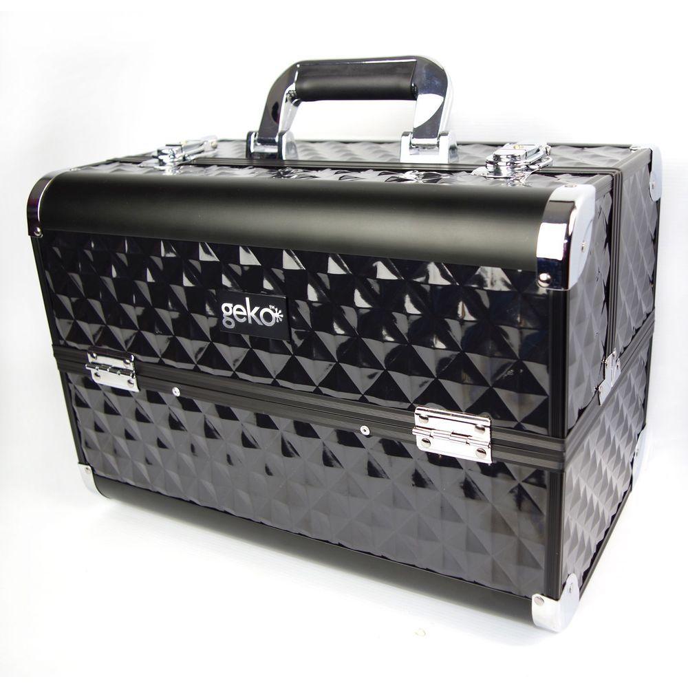 Professional Designer Vanity Case Beauty Storage Make Up Box Heavy Duty Black Ebay Makeup Vanity Box Vanity Case Makeup Box