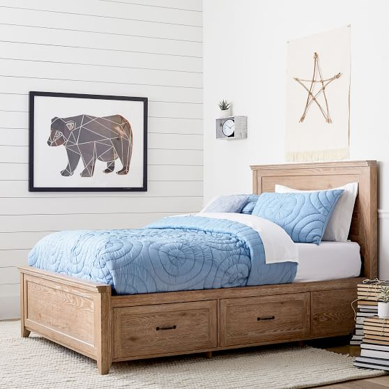 Hampton Storage Bed in 2020 Bed with drawers, Storage