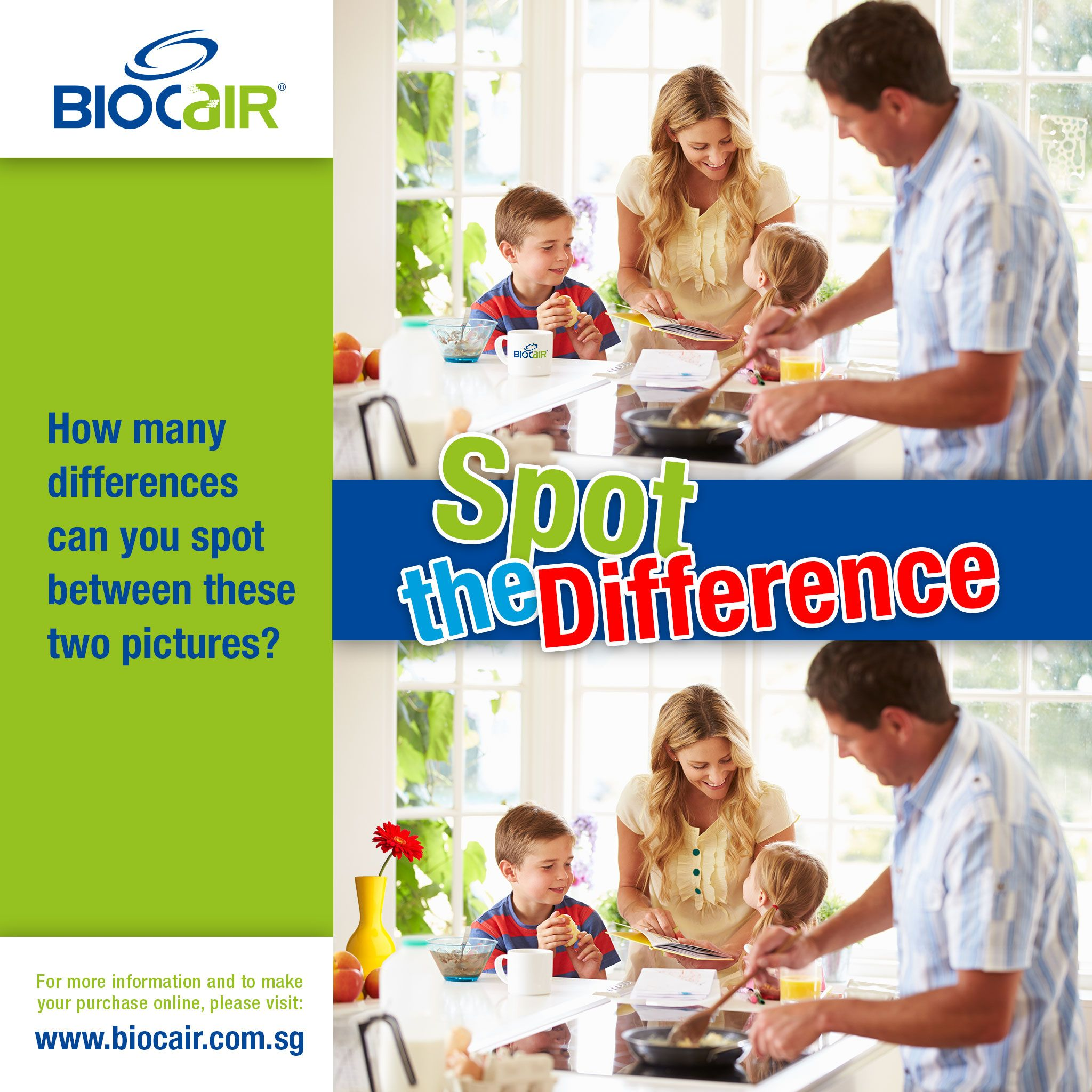 2 How Many Differences Can You Spot Between These Two