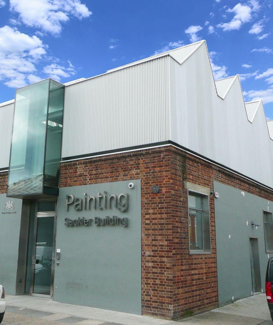 royal college of arts sackler building metal cladding expanded