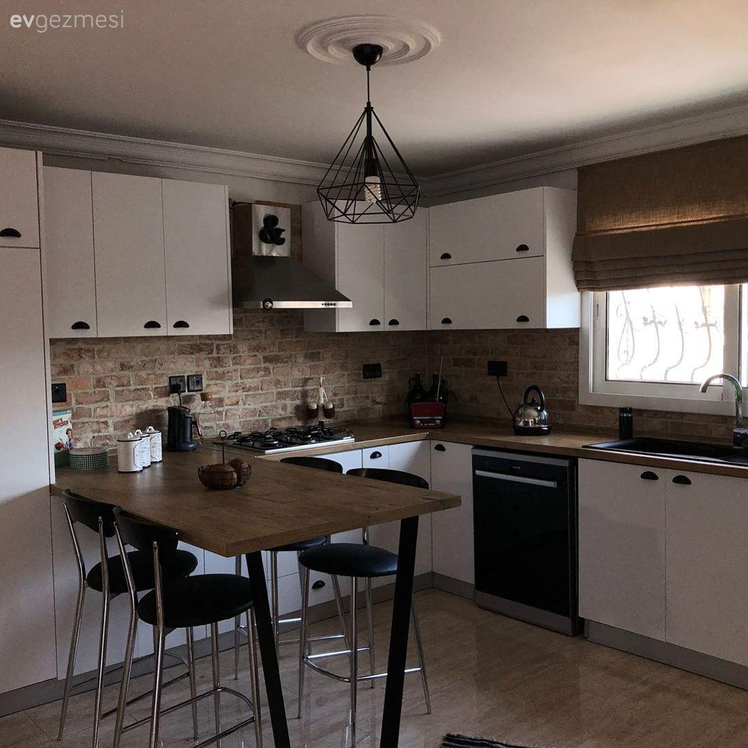 Bir mutfak tadilat hikayesi. Nihal hanımın mutfağının sıcacık, çok keyifli bir mutfağa dönüşümü..