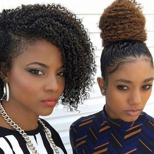 Stunning Prom Hairstyles African American Hair Hair Styles Natural Hair Styles Shoulder Hair