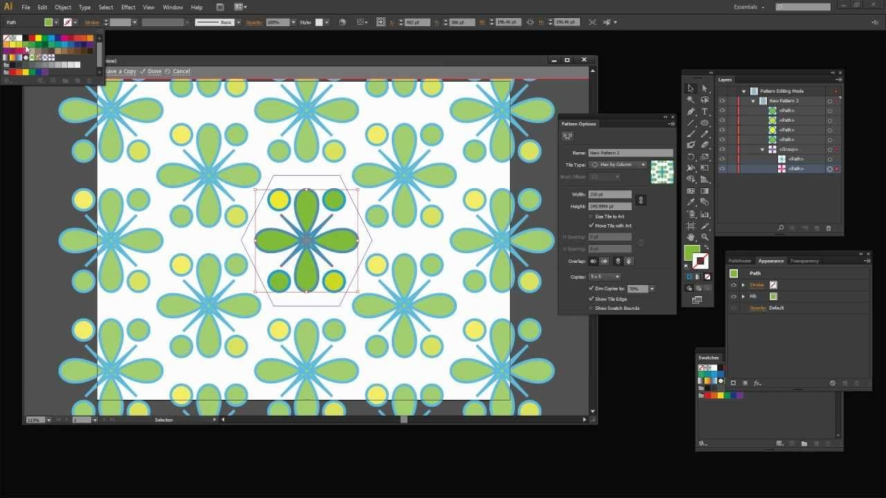 Illustrator Cs6 Patternmaker We Will Use This Tutorial For