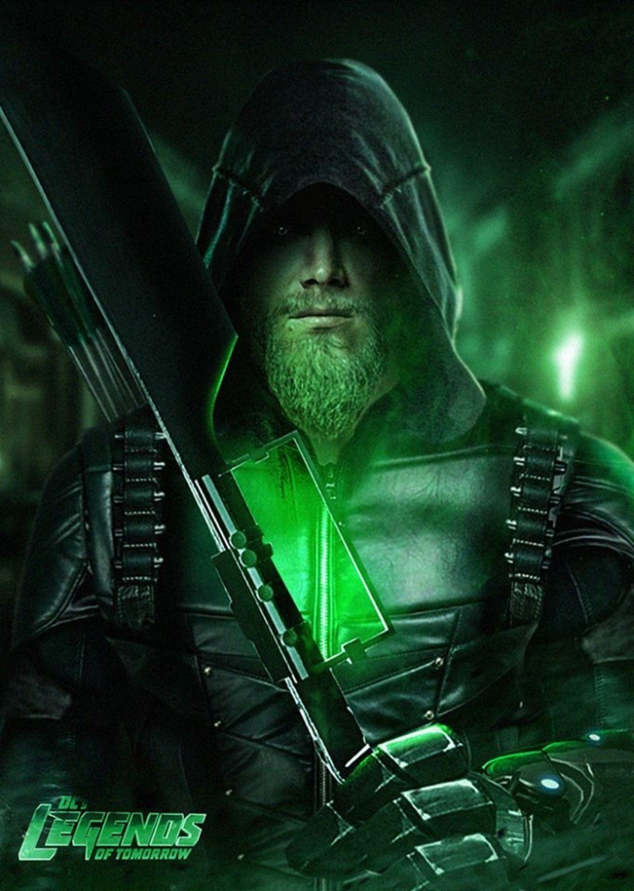 Green Arrow Legends Of Tomorrow By Bosslogic  Comic  Dc -9366