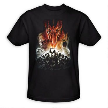 The Lord of the Rings Evil Rising Adult T-Shirt