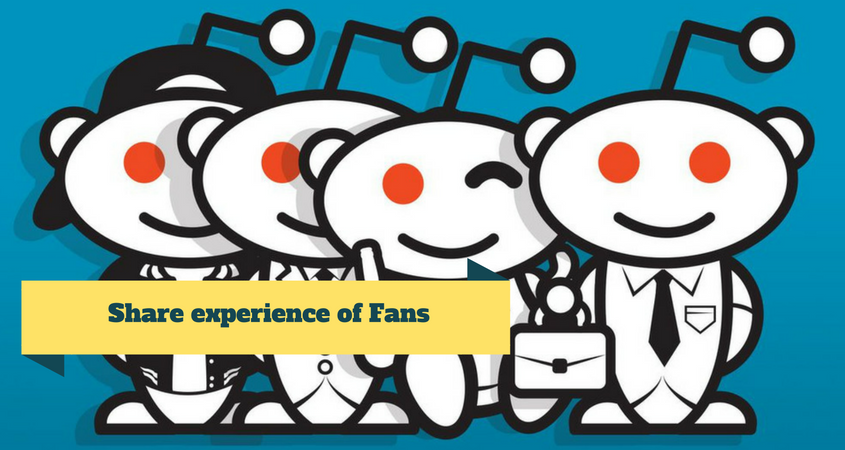 Share experience of Fans