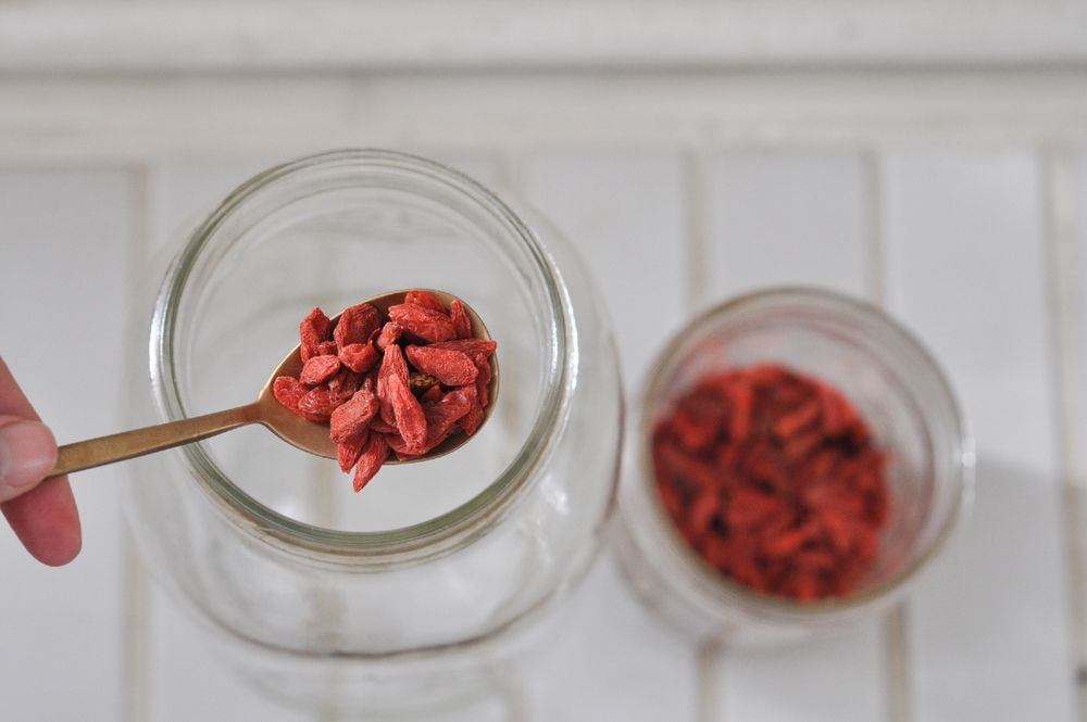 Nettle Raspberry Leaf Goji Infusion To Be Magnetic Manifest