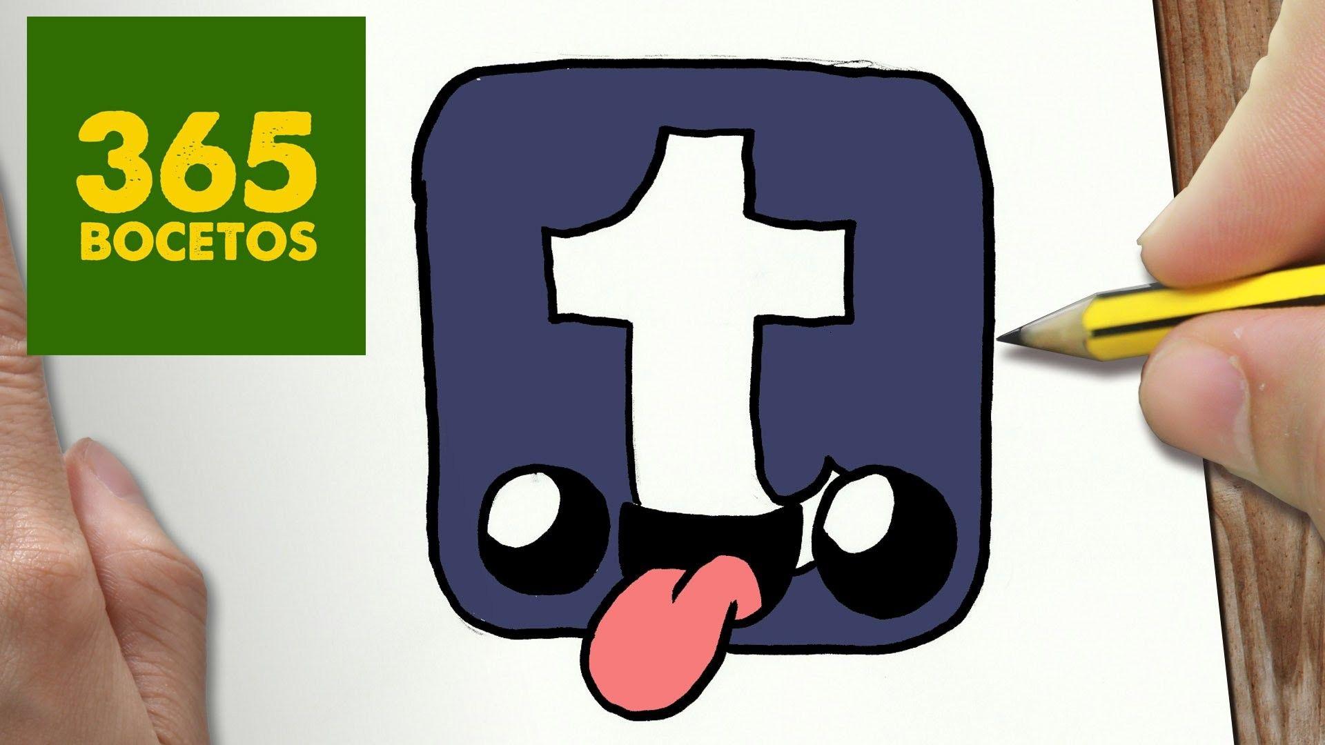 Como Dibujar Logo Tumblr Kawaii Paso A Paso Dibujos Kawaii Faciles