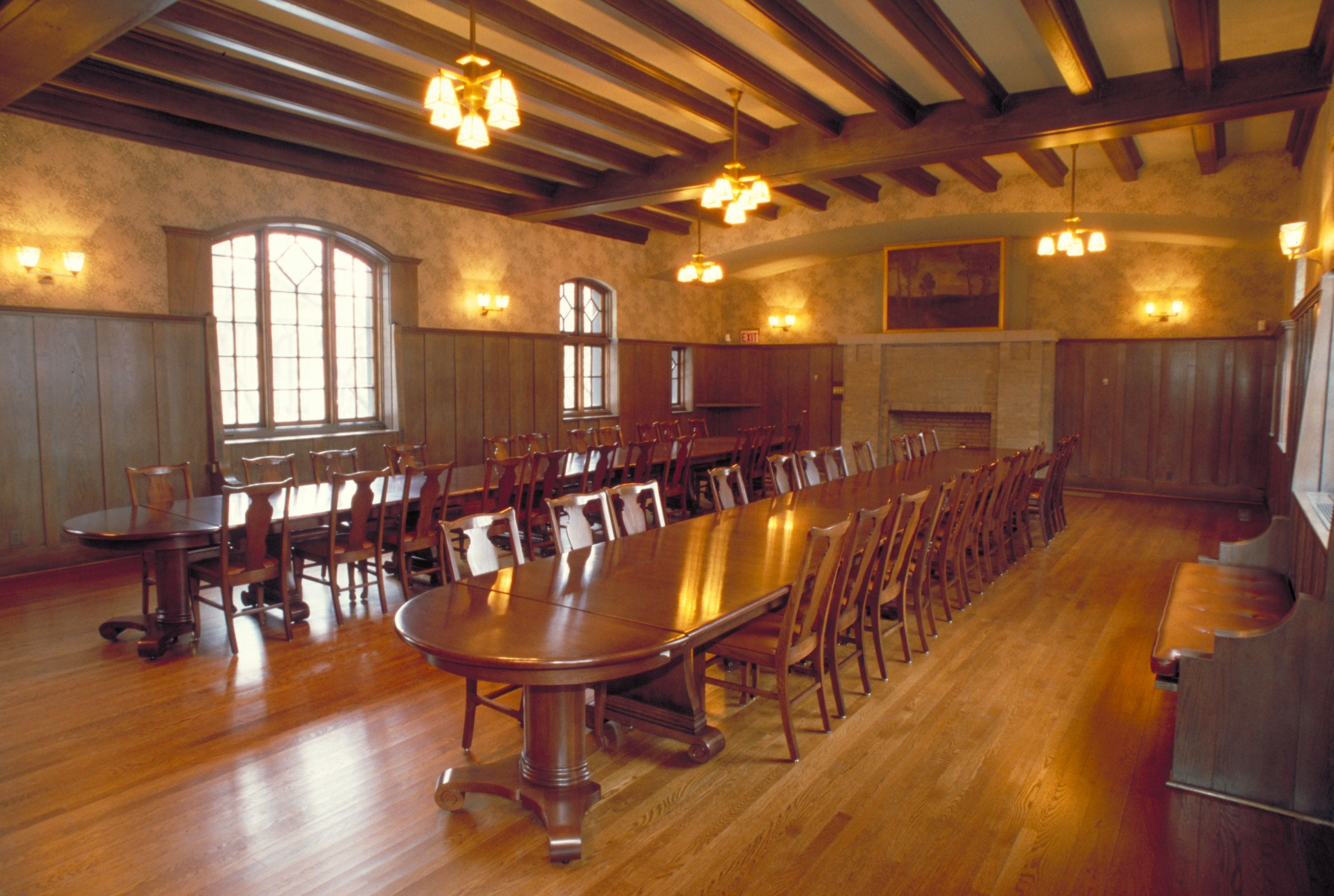The Residents' Dining Hall of the Jane Addams HullHouse