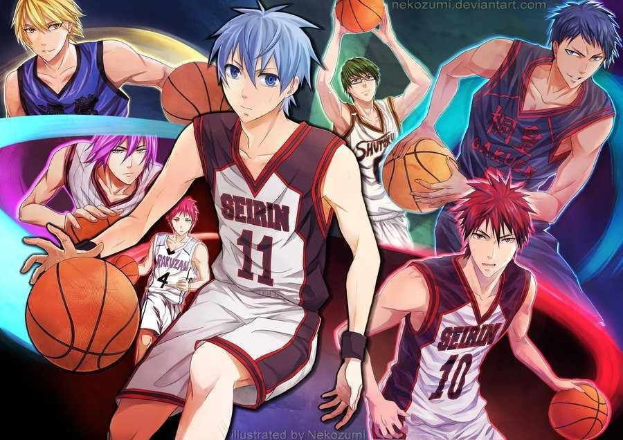 Download Anime Kuroko no Basket Season 3 Subtitle