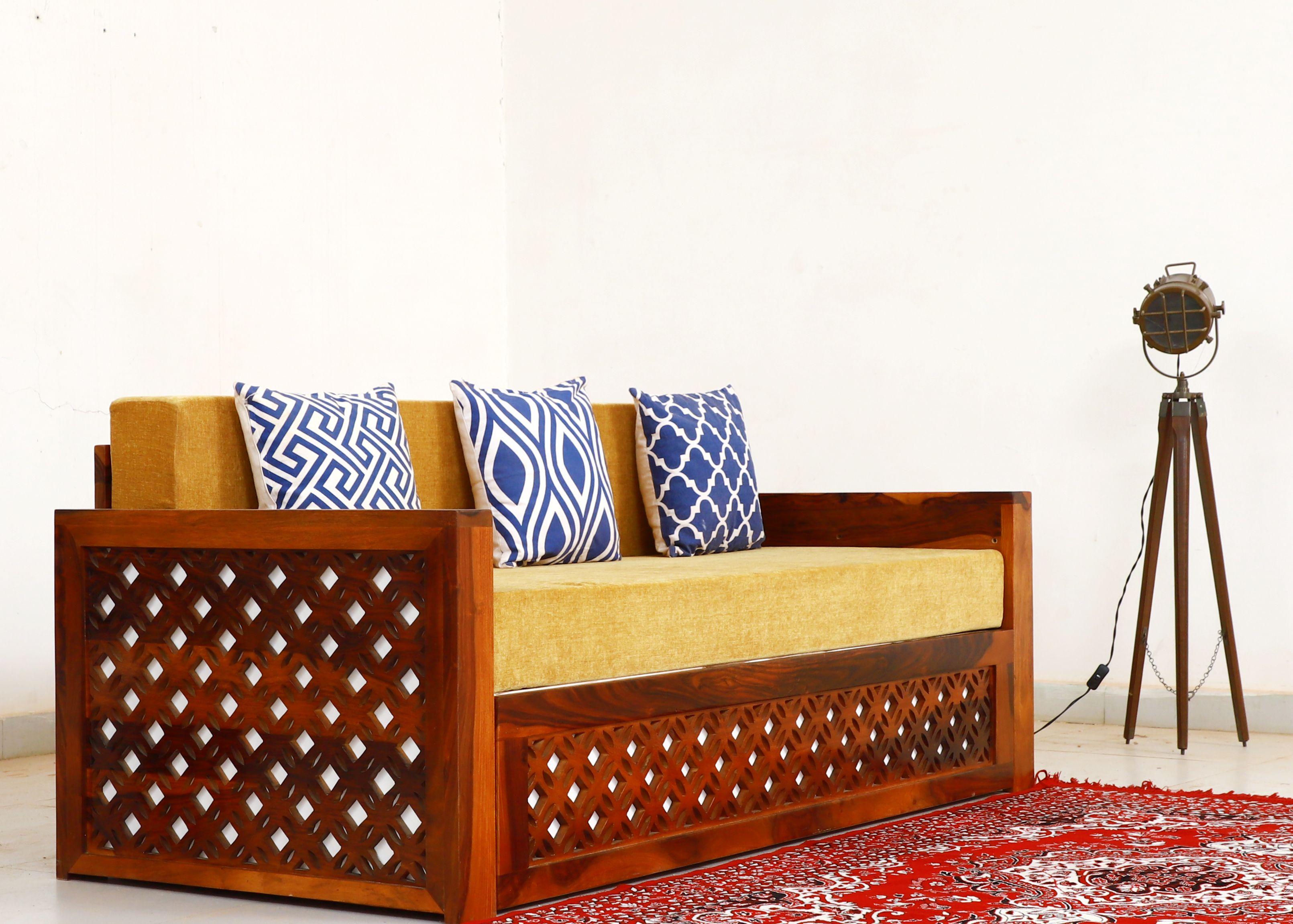 Wooden Sofa Set Buy Wooden Sofa Set Online At Best Prices Jodhpuri Furniture Get Upto 60 Off In 2020 Wooden Sofa Designs Wooden Sofa Set Wooden Sofa
