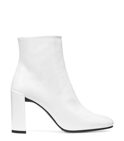 Stuart Weitzman VIGOR BOOTIE in Patent Boots Shoe