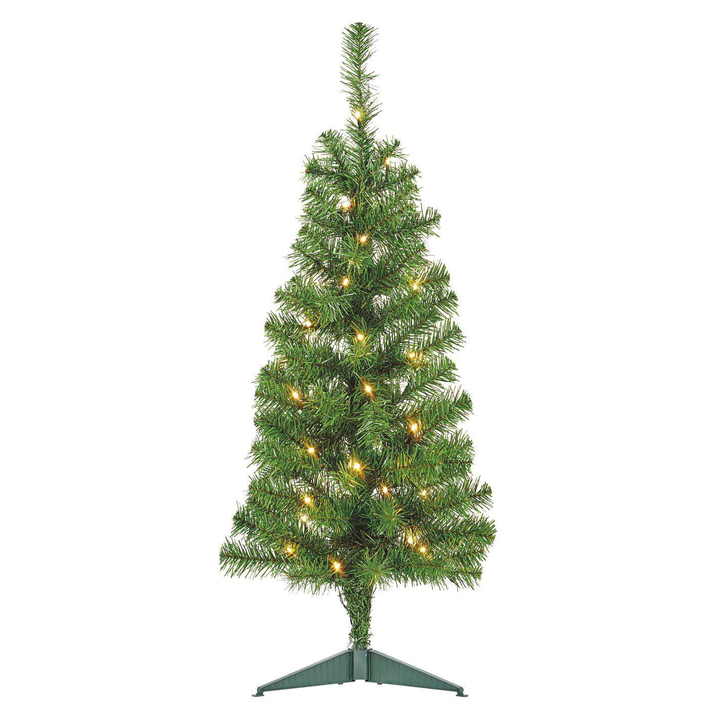 3FT Green PreLit Tree Christmas Trees ASDA direct