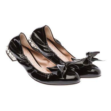 Miu Miu e-store · Shoes · Ballerinas · Ballerinas 5F8626_XUW_F0002_F_015