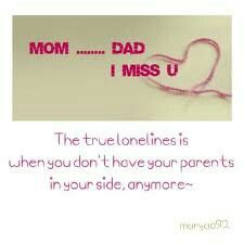 Mom N Dad Miss You Mom And Dad Miss You Quotes