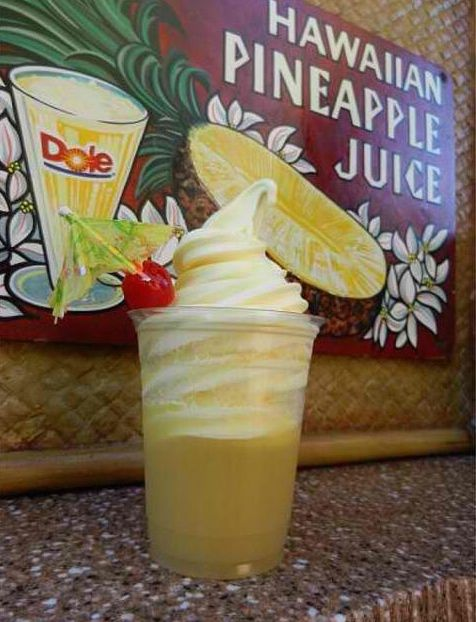 Image result for dole whip in Tiki Room