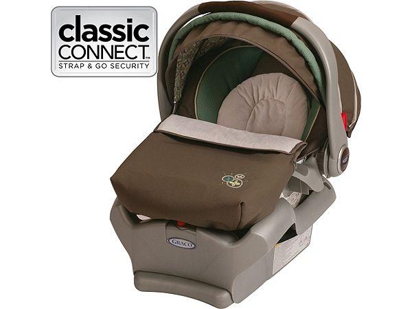 SnugRide® Classic Connect™ 35 Infant Car Seat, Astoria™ - Graco ...
