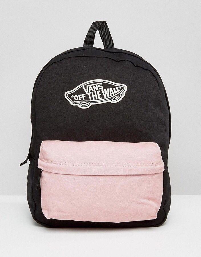 b79022705d ❥Pinterest  yarenak67 Vans School Bags