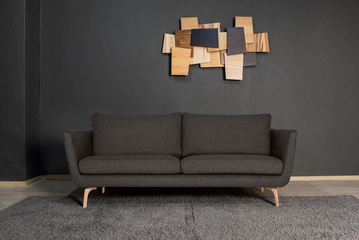 3 Sitzer Odense Mit Holzfussen Und Losen Ruckenkissen Haus Deko Skandinavisches Design Und 3 Sitzer Sofa