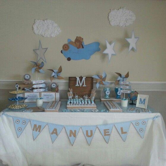 Dise o y decoraci n de eventos sevilla mesa dulce - Decoracion de mesa de bautizo ...