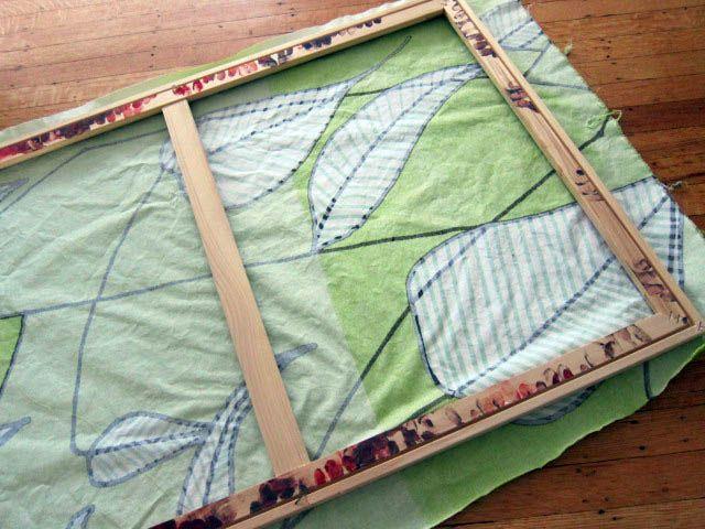Tutorial how to frame fabric quick art framed fabric fabrics how to frame fabric framing fabricfabric frameframed fabric artdiy solutioingenieria Choice Image