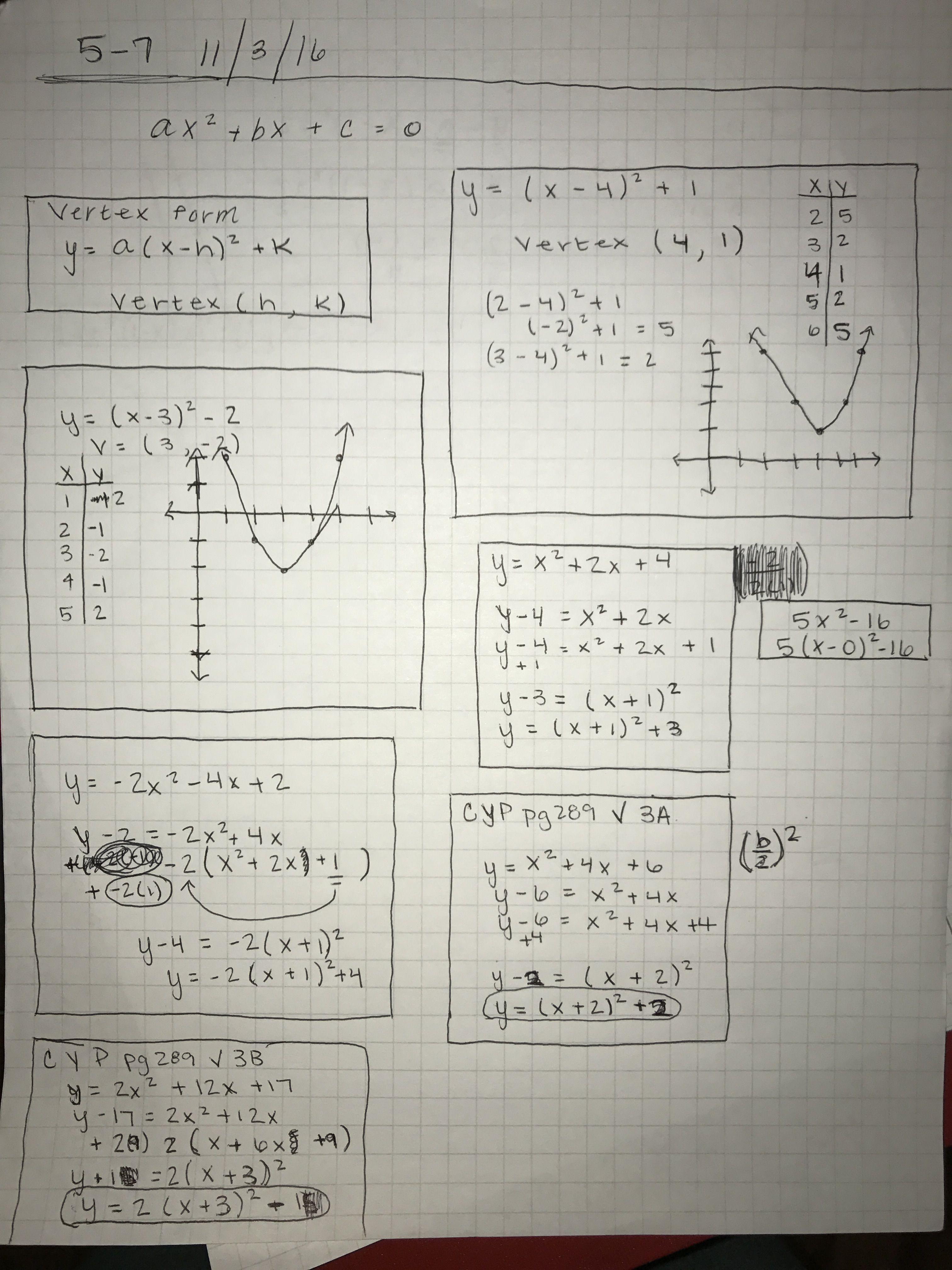 Algebra 2 math notes   College   Math notes, Algebra 2, Algebra