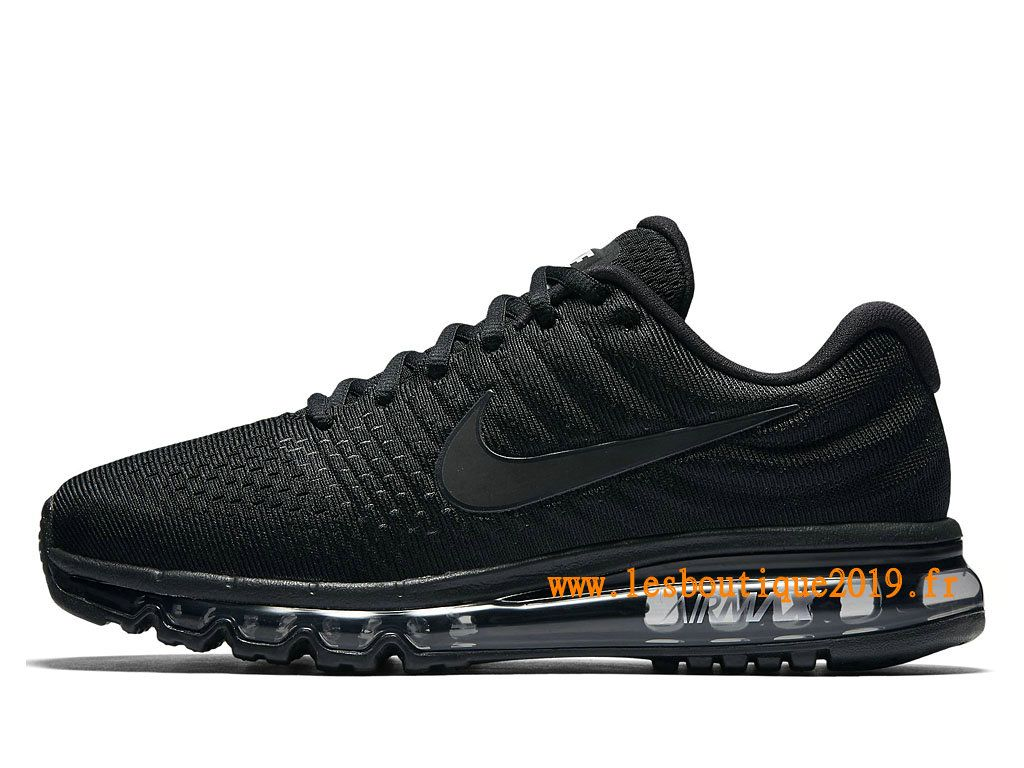 new photos exclusive deals arriving Nike Air Max 2017 Chaussures Nike Running Pas Cher Pour Homme Noir ...